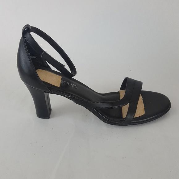 4c7ab2c7afde AEROSOLES Shoes - Aerosoles Sandals Pumps Ankle Strap Black